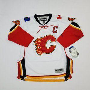 YOUTH Reebok Calgary Flames #12 Iginla Jersey